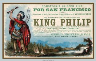 Clipper Ship - King Philip (Advert)